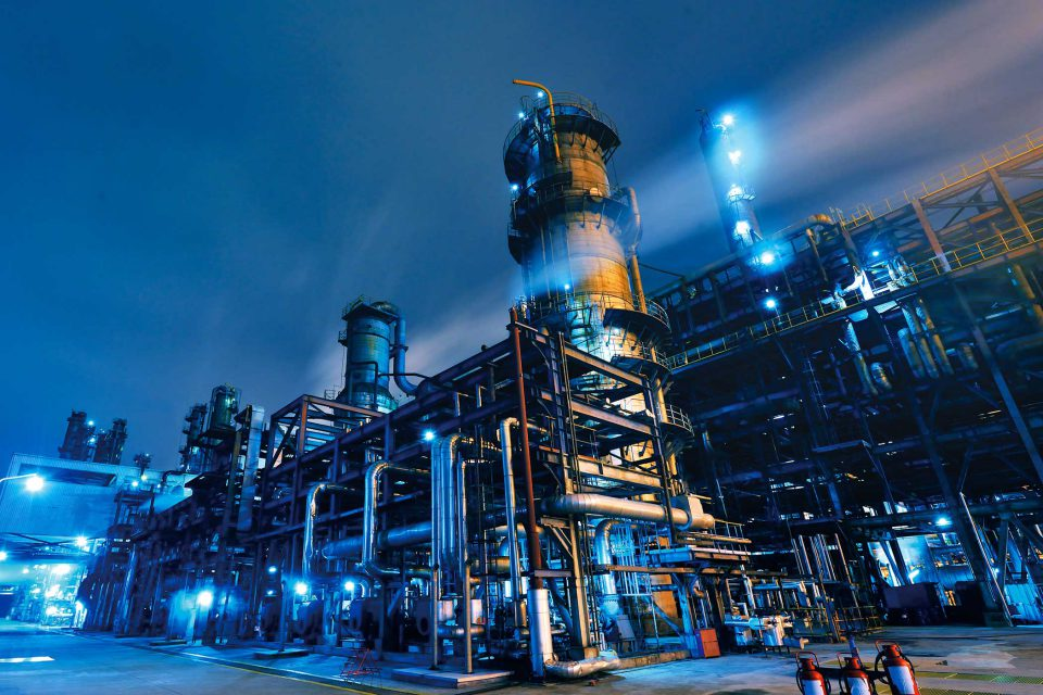 Industrial Chemical Plant   EW Process